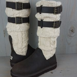 ugg cassidee tall knit shaft boots